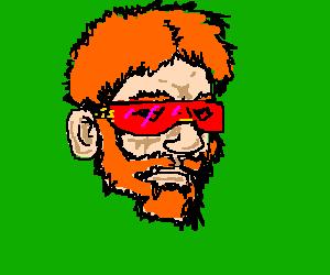 chuck norris dons bono's shades