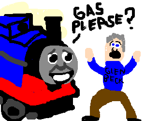 thomas the tank engine requests oil from retard