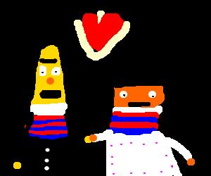 Bert and Ernie get married