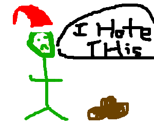 """""""Your poo does not please me!"""" - The Grinch"""