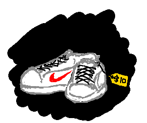 Nike trainers, only $10