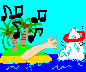 Musical Island Ice Hoopla