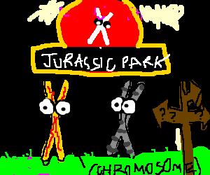 Jurassic Park 4 - The lost chromosomes