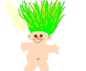 A troll- draw what you want.