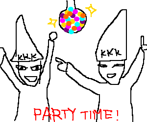 Ku klux klan annual disco