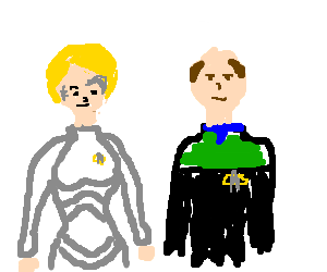 Star Trek Voyager: 7 of 9 and the Doctor