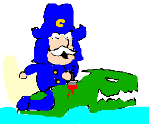 captain crunch vs. loch ness monster