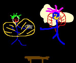 Magical fairy tea party