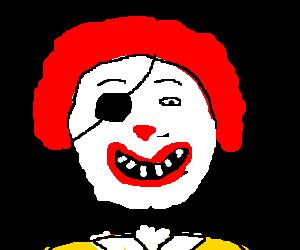 Ronald Pirate McDonald