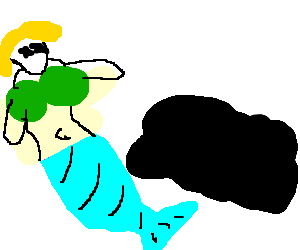 Mermaid sacrifice produces quality fossil fuel