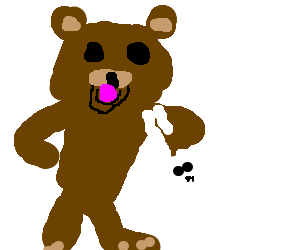 Someone witness Pedobear kidnapping Easter Bunny