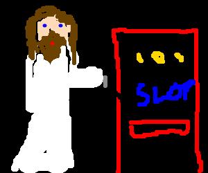 Jesus at the casino