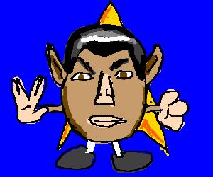 Spock as Mr. Potato Head