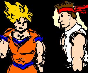 Ryu vs. Goku