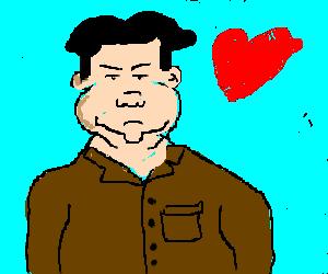 Kim Jong Un seduces Jeremy Lin.