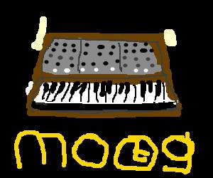 An analogue synthesizer!