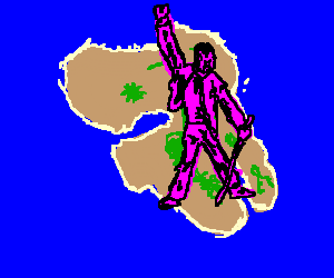 Pink Mercury lands on the Isle of Lesbos