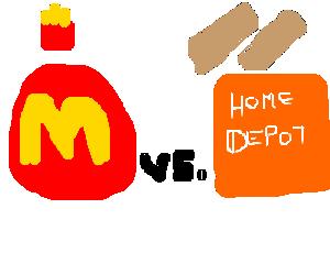 McDonald's vs. Home Depot