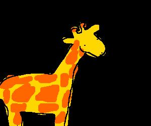 Giraffe eats triangles for dinner