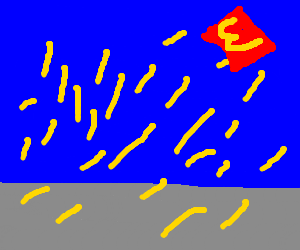 Its raining french fries!