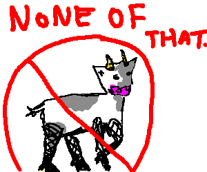 transvestite bovine forbidden