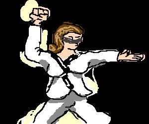 helen keller becomes blind kung fu master drawing by bloodangels rh drawception com Helen Keller Drawing Helen Keller Drawing
