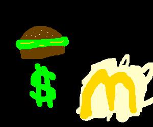 McGreen Burger sold at McDonald's
