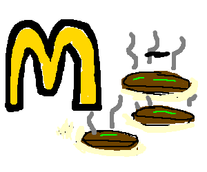 Rotting patties only at mcdonalds!