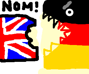 Germany noms on the UK