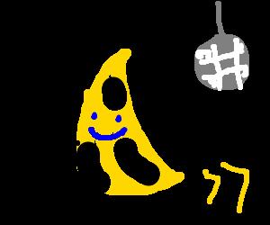 Dancing banana emoticon