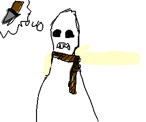 Linched mans ghost is looking for payback