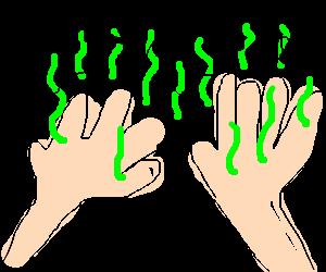 stinky hands