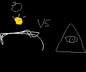 Steve Jobs VS the illuminati