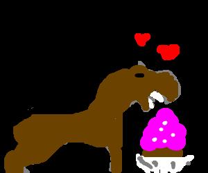 Ponys love cupcakes