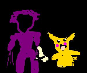 Kilgrave the purple man adores Pikachu.