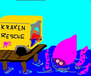 release... THE KRAKEN!!