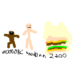 The Big Mac is the end of human evolution