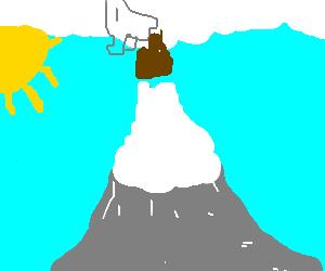 God shitting on Everest