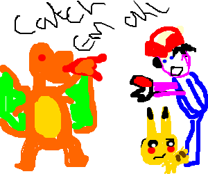 Gonna Catch Them All Pokemon U266B Open Pokeball