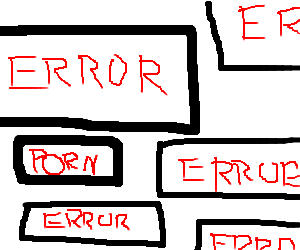 error messages popping up everywhere