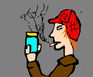 Holden Caulfield is a pirate with a jar