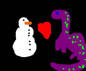snowman hearts locness monster