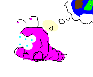 Mulit-Eyed Monster contemplates something
