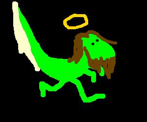 Raptor Jesus saves the weak