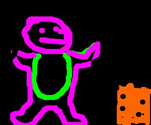 Barney, My Pebbles!!