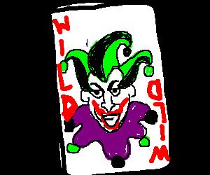 A Joker Wild Card