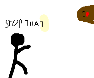 African-american banning horizontal Diglett