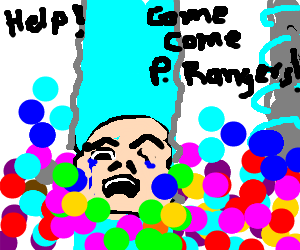 Zordon is drowning in bubblegum, cries for help