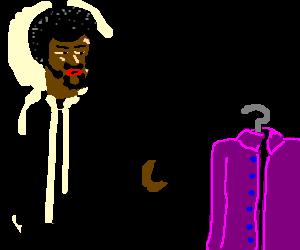 Jules Winnfield dislikes purple shirts