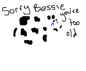 Depressed Cow cant find a job
